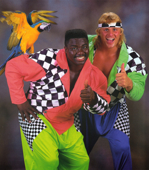Re-Re-Ranking WWE's Greatest Tag Teams – #4 High Energy | Jive Soul Bros  Wrestling